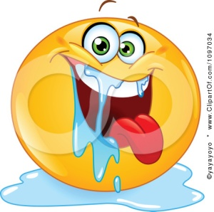 1097034-Clipart-Happy-Drooling-Emoticon-Royalty-Free-Vector-Illustration