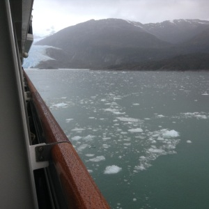 Water after calving from a Glacier.